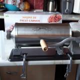 Masina de carnati, Carnatar, Orizontal 3 kg Micul Fermier Inox - Masina de Tocat Carne