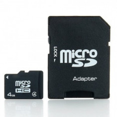 CARD DE MEMORIE IMRO MICRO SDHC 4 GB CLASS 10 + ADAPTOR SD - Card memorie