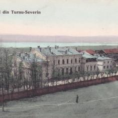 SALUTARI DIN TURNU SEVERIN , GARA  , CIRCULATA 1906, Printata