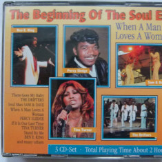 The beginning of the soul era - 3cd box - Muzica Blues Altele