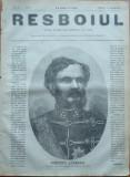 Ziarul Resboiul , nr. 83 , 1877 , gravura , Comitele Andrassy , Cancelarul