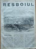 Ziarul Resboiul , nr. 79 , 1877 , gravura , Armata Rusa in Bulgaria , Cazaci