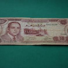 10 Dirhams 1970 Maroc - bancnota africa