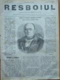 Ziarul Resboiul , nr. 82 , 1877 , gravura , Principele Gorciacoff , Cancelarul