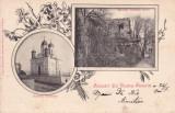 SALUTARI DIN TURNU SEVERIN  BISERICA GRECEASCA RUINELE SEVER CLASICA  CIRC. 1900, Necirculata, Printata, Drobeta-Turnu Severin