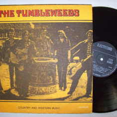 Disc vinil THE TUMBLEWEEDS - Country and western music (ST - EDE 01073) - Muzica Rock & Roll electrecord