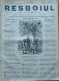 Ziarul Resboiul , nr. 78 ,1877 ,gravura ,Spion turc dupa batalia dela Ieni-Sagra