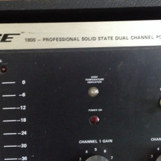 Bose 1800 Amplifier - Amplificator studio Altele