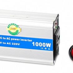 Invertor auto 1000W Chaomin 24V - 220V cu iesire USB + GARANTIE 12 LUNI