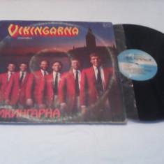DISC VINIL LP ALBUM VIKINGARNA-ENSEMBLE MELODIA 1985 STARE FOARTE BUNA - Muzica Folk