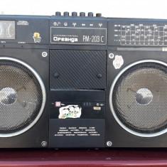 RADIO CASETOFON RUSESC .  Oreanda PM-203C , PLATA AVANS IN CONT LA BRD