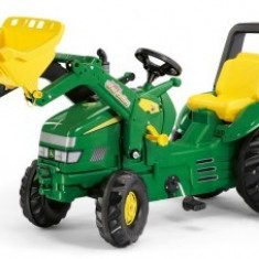 Tractor Cu Pedale 3-10 ani ROLLY TOYS Green