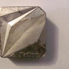 PVM - Scrumiera de poseta / voiaj Marlboro dimensiuni mici aluminiu - Tutungerie