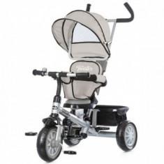 Tricicleta cu sezut reversibil Chipolino Twister Grey - Tricicleta copii