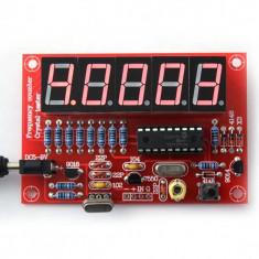 Frecventmetru digital ( masoara si quartz ) 1Hz-50MHz (kit sau montat) ! - Multimetre