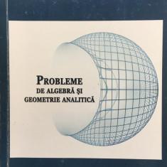 PROBLEME DE ALGEBRA SI DE GEOMETRIE ANALITICA - Letitia Ion, Ionela Ticu - Culegere Matematica