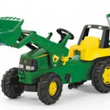 Tractoras copii cu Pedale 3-8ani ROLLY TOYS Verde