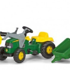Tractor Cu Pedale Si Remorca 2-6Ani ROLLY TOYS verde
