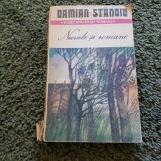 Nuvele Si Romane - Mari Scriitori Romani - Damian Stanoiu - Nuvela
