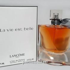 Parfum Tester - Lancome La Vie Est Belle 75 ml - Parfum femeie, Apa de toaleta