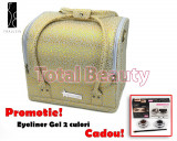 Geanta Produse Cosmetice Fraulein38, Golden Pattern