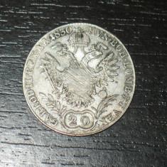 Moneda argint 20 kreuzer Austria 1830, A, Europa