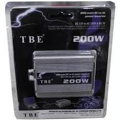 Invertor 12v la 220v 200w - Invertor Auto TBE