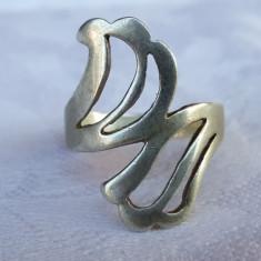 Inel argint art deco Franta 1920 Superb finut delicat vintage de Efect