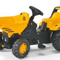 Tractoras Copii 2-5Ani Cu Pedale Rolly Toys Yellow