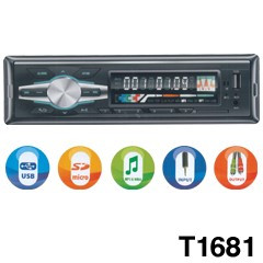 LICHIDARE STOC! MP3 PLAYER AUTO 4X45WATT CU STICK USB,CARD,RADIO,SUNET HI FI.NOU foto