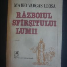 MARIO VARGAS LLOSA - RAZBOIUL SFARSITULUI LUMII, Alta editura