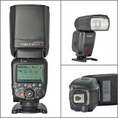 Flash Blitz Yongnuo YN600EX-RT II HSS wireless Speedlite TTL master pentru Canon - Blitz dedicat Yongnuo, Aparat foto digital