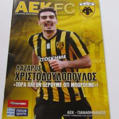 Program meci fotbal AEK ATENA - PANATHINAIKOS (Grecia) 02.04.2017