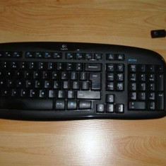 Kit tastatura + mouse Logitech Wireless Desktop MK250