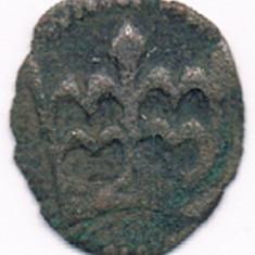 Moneda 1 denar 1489-1502 - Polonia, argint 12 mm, Europa