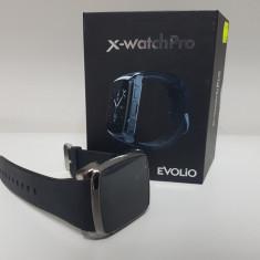 Ceas Smartwatch Evolio X-Watch Pro, Camera, SIM, Factura & Garantie !, Alte materiale, Android Wear, Apple Watch
