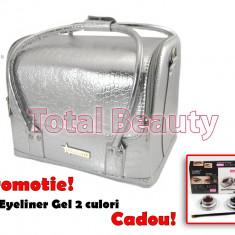 Geanta Produse Cosmetice Fraulein38, Silver Mist - Geanta cosmetice