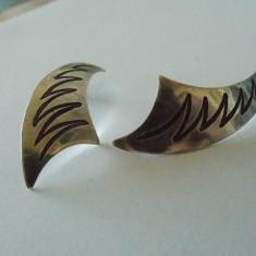 Cercei argint vintage -1908