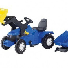 Tractor 3-8Ani Cu Pedale Si Remorca Rolly Toys Blue