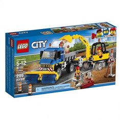 Maturatoare mecanica si excavator 60152 Lego City