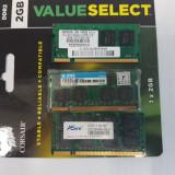 Memorie RAM 1GB DDR2 - Memorie RAM laptop, 667 mhz