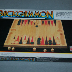 Joc Table - Backgammon din lemn masiv - Set table