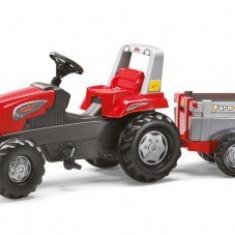 Tractor Cu Pedale Si Remorca 3-9ani ROLLY TOYS Rosu