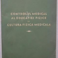 Nikitin - Controlul Medical al Educatiei Fizice Si Cultura Fizica Medicala - Carte Recuperare medicala