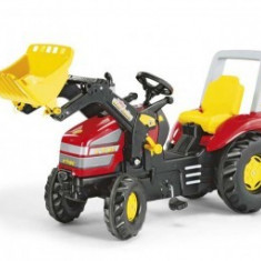 Tractoras Copii Cu Pedale ROLLY TOYS 3-10Ani Rosu