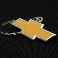 Breloc auto metalic model pentru Chevrolet + cutie simpla cadou