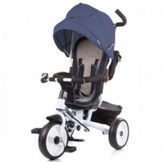 Tricicleta copii 1-5Ani Chipolino Sportico Navy