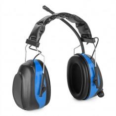 Auna Jackhammer 2. 0 Căști radio FM SNR 28dB ABS / oțel negru - Echipament karaoke