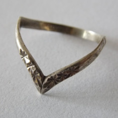 Inel argint vintage -1906