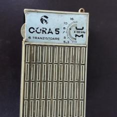 RADIO CORA 5 TEHNOTON, 6 TRANZISTOARE, DEFECT ! - Aparat radio